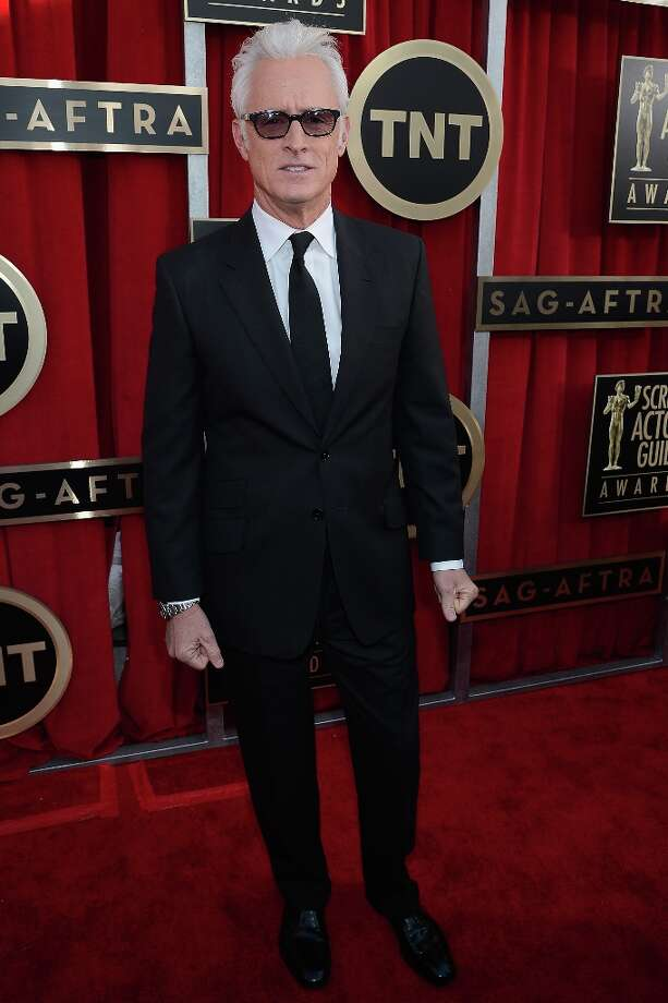 Actor John Slattery arrives at the 19th Annual Screen Actors Guild Awards held at The Shrine Auditorium on January 27, 2013 in Los Angeles, California. Photo: Kevork Djansezian, Getty Images / 2013 Getty Images