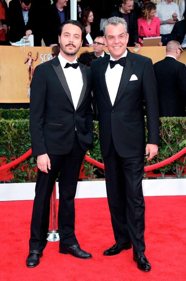 Actors Jack Huston (L) and Danny Huston arrive at the 19th Annual Screen Actors Guild Awards held at The Shrine Auditorium on January 27, 2013 in Los Angeles, California. Photo: Frazer Harrison, Getty Images / 2013 Getty Images