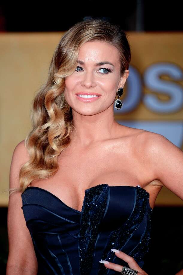 LOS ANGELES, CA - JANUARY 27:  Actress Carmen Electra arrives at the 19th Annual Screen Actors Guild Awards held at The Shrine Auditorium on January 27, 2013 in Los Angeles, California. Photo: Frazer Harrison, Getty Images / 2013 Getty Images