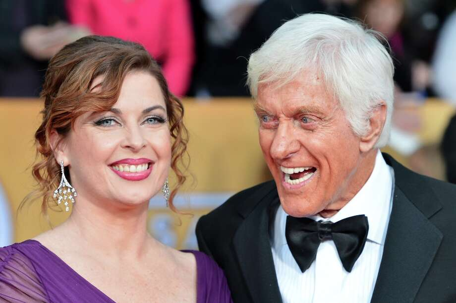 LOS ANGELES, CA - JANUARY 27:  Actor Dick Van Dyke (R) and wife Arlene Silver arrive at the 19th Annual Screen Actors Guild Awards held at The Shrine Auditorium on January 27, 2013 in Los Angeles, California. Photo: Frazer Harrison, Getty Images / 2013 Getty Images