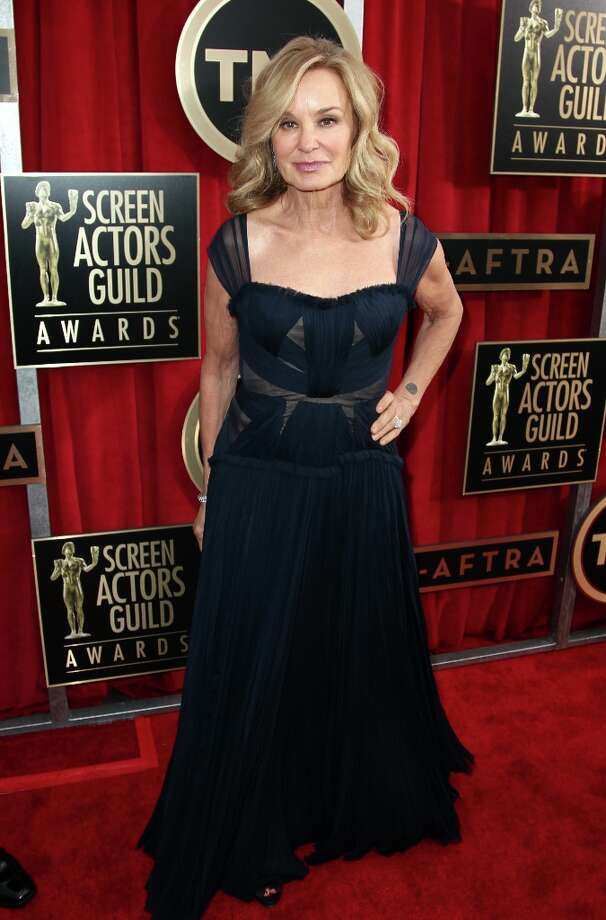 Actress Jessica Lange arrives at the 19th Annual Screen Actors Guild Awards at the Shrine Auditorium in Los Angeles on Sunday, Jan. 27, 2013. (Photo by Matt Sayles/Invision/AP) Photo: Matt Sayles, Associated Press / Invision