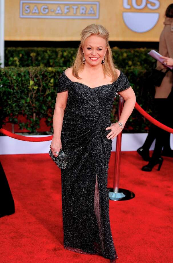 Actress Jacki Weaver arrives at the 19th Annual Screen Actors Guild Awards at the Shrine Auditorium in Los Angeles on Sunday, Jan. 27, 2013. (Photo by Chris Pizzello/Invision/AP) Photo: Chris Pizzello, Associated Press / Invision
