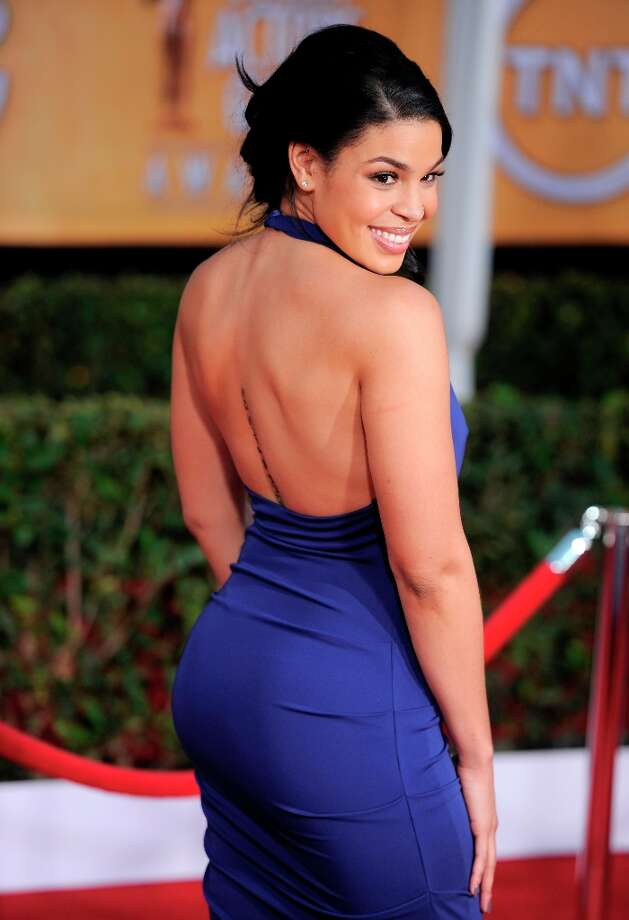 Jordin Sparks arrives at the 19th Annual Screen Actors Guild Awards at the Shrine Auditorium in Los Angeles on Sunday Jan. 27, 2013. (Photo by Chris Pizzello/Invision/AP) Photo: Chris Pizzello, Associated Press / Invision