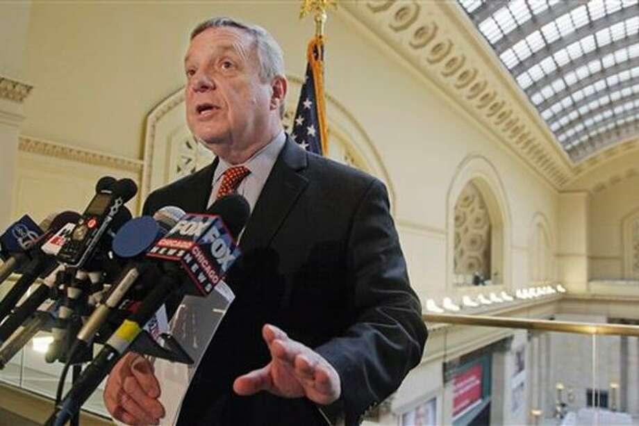 Dick Durbin, one of eight senators seeking comprehensive immigration reform. (AP Photo)