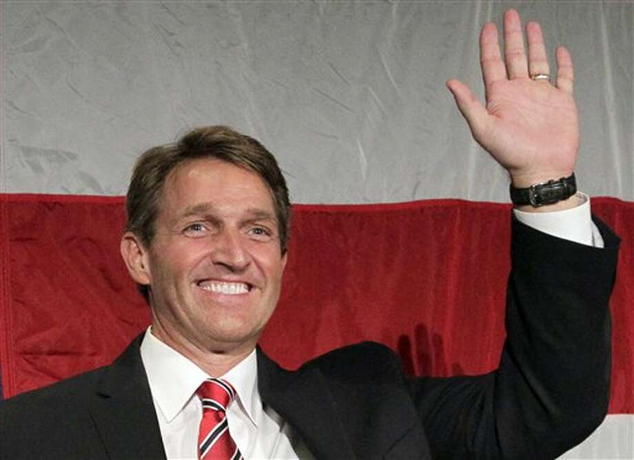 Jeff Flake, one of eight senators seeking comprehensive immigration reform. Photo: Matt York, AP / AP
