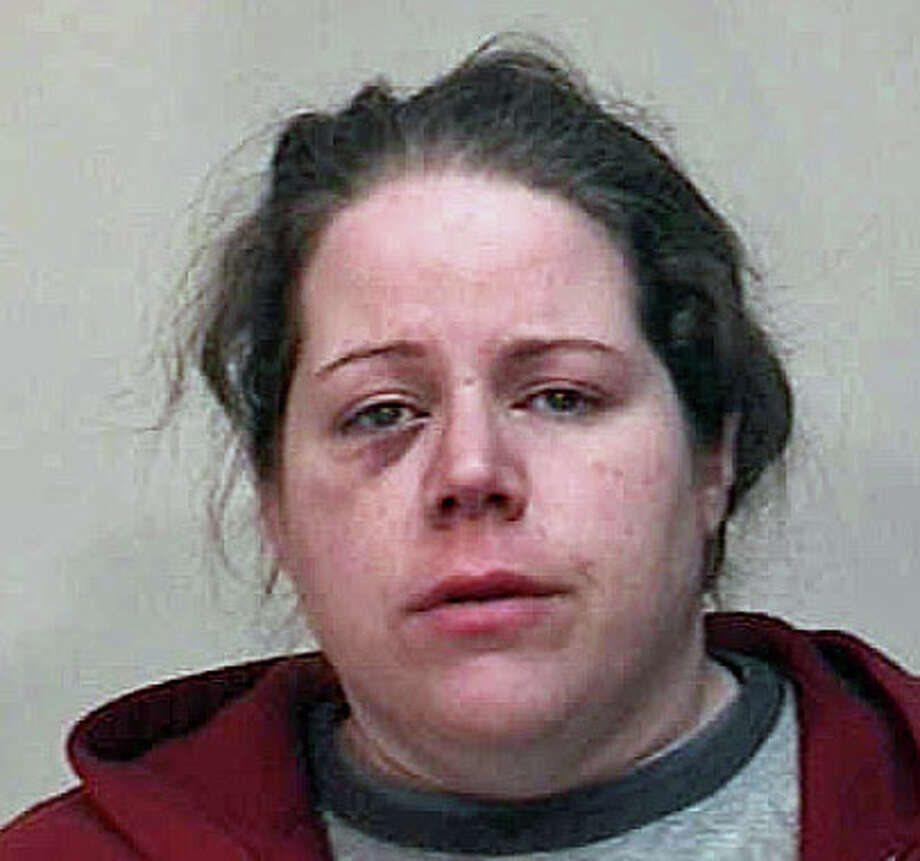 Kathryn Stine, 31, is charged with stealing money from her grandmother. Photo: Contributed Photo / Fairfield Citizen