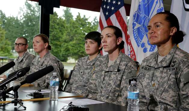 U.S. soliders react to the decision, which is a further  step toward ensuring military careers are determined by ability and performance.