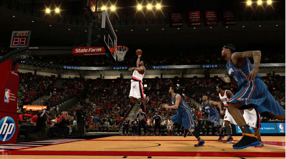 NBA 2K13: With this basketball simulation game, kids learn the rules of basketball by playing it virtually and can experience teamwork by playing with others.Age 8. Platforms: Nintendo Wii, PlayStation 3, PSP, Xbox 360, Nintendo Wii U. More at CommonSenseMedia.org.