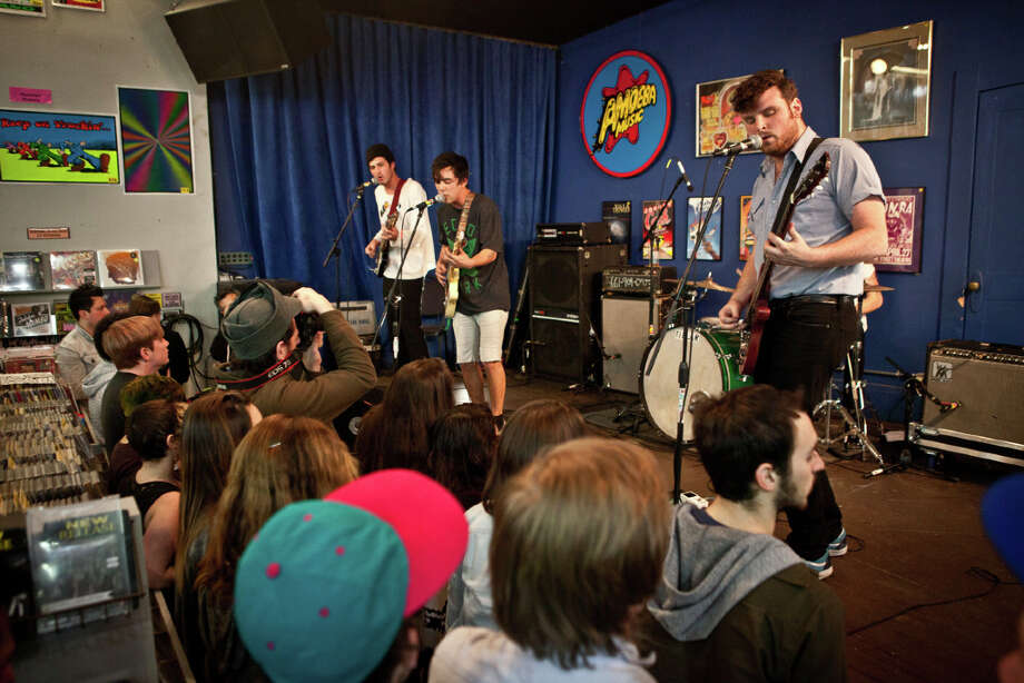 Fidlar performs at Amoeba Recordsin San Francisco on January 18, 2013. Photo: Lance Skundrich / Butchershop Creative Archive all rights reserved