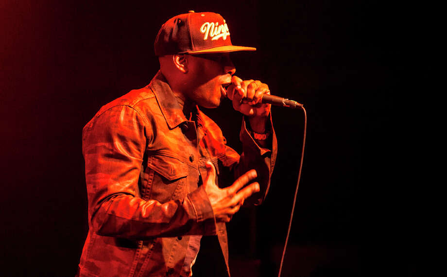 Talib Kweli performs at the Independent in San Francisco on January 23, 2013. Photo: Grady Brannan / Butchershop Creative Archive all rights reserved