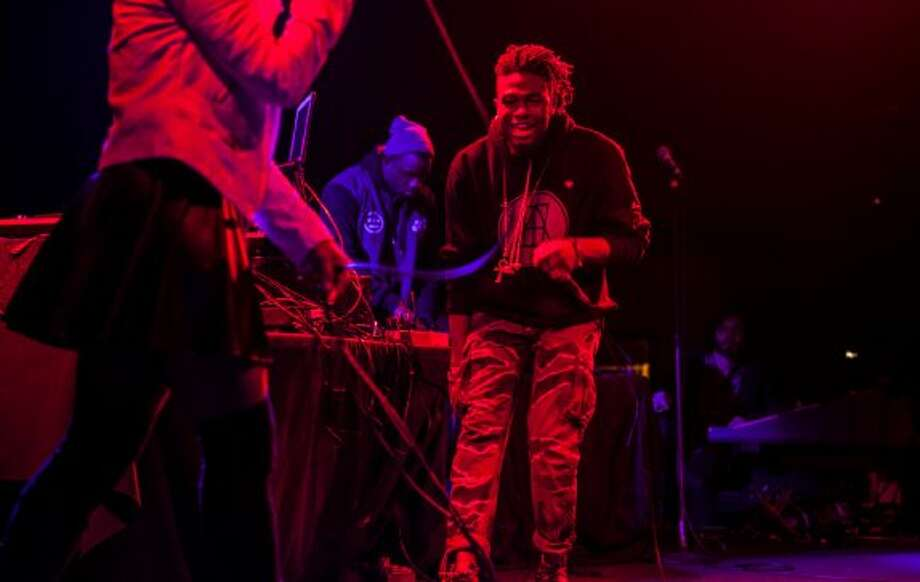 Duckwrth performs at the Independent in San Francisco on January 23, 2013.