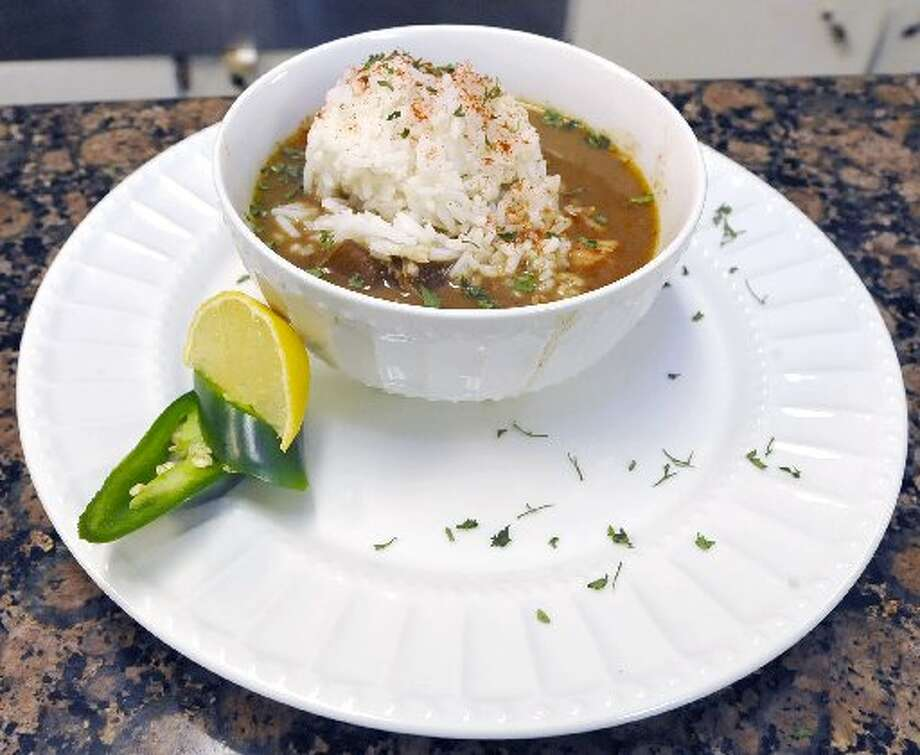 Chicken and sausage gumbo. Dave Ryan/cat5