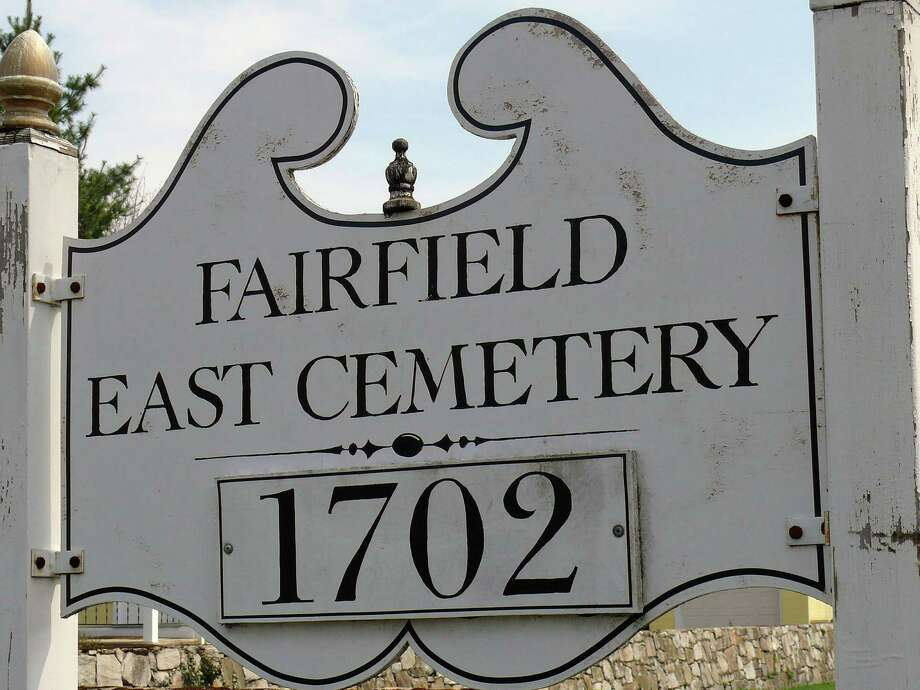 The history of Fairfield's East Cemetery on Old Post Road involves a generous king who gave Connecticut what now is northern Ohio, plus an inter-colony war with followers of William Penn. Photo: Genevieve Reilly, File Photo / Fairfield Citizen