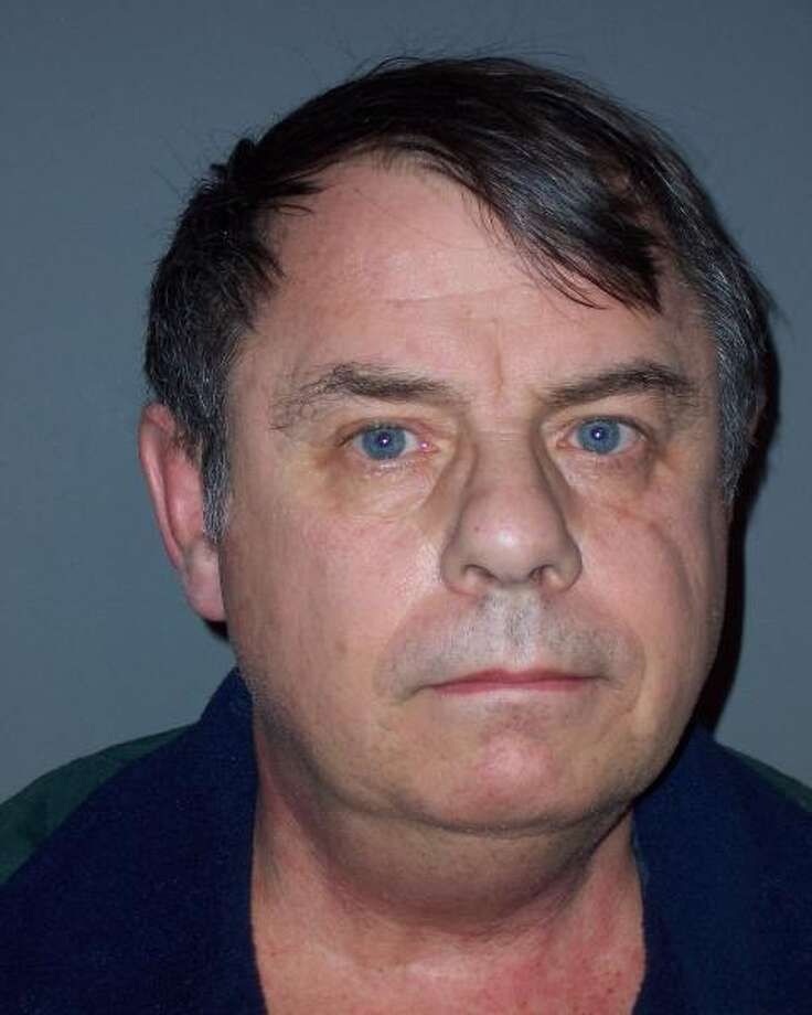 Rotterdam police mugshot of George Hughes, 63, who is charged with public lewdness for allegedly exposing himself to a newspaper carrier in January 2013. (Photo courtsey Rotterdam Police Department)