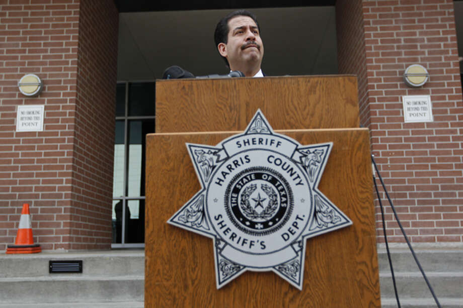County law enforcement, including Sheriff Adrian Garcia, says the game room law would give them another tool to combat a growing problem. Photo: Johnny Hanson / Houston Chronicle