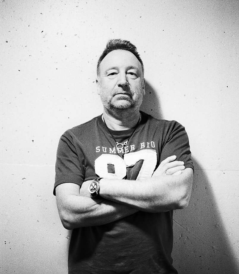 Peter Hook will discuss the book with Boing Boing co-editor David Pescovitz on Thursday at the Jewish Community Center. Photo: Julien Lachaussee