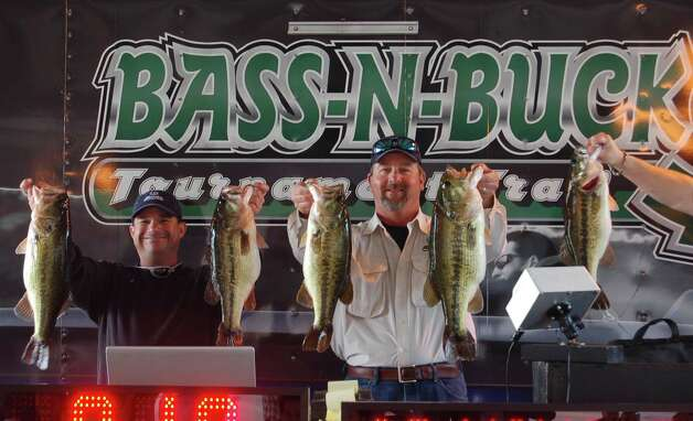 Jeremy Burge and Kraig Welborne Bass N Bucks Winners