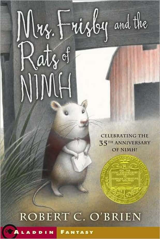 1972 Newbery winner: Mrs. Frisby and the Rats of NIMH by Robert C. O'Brien