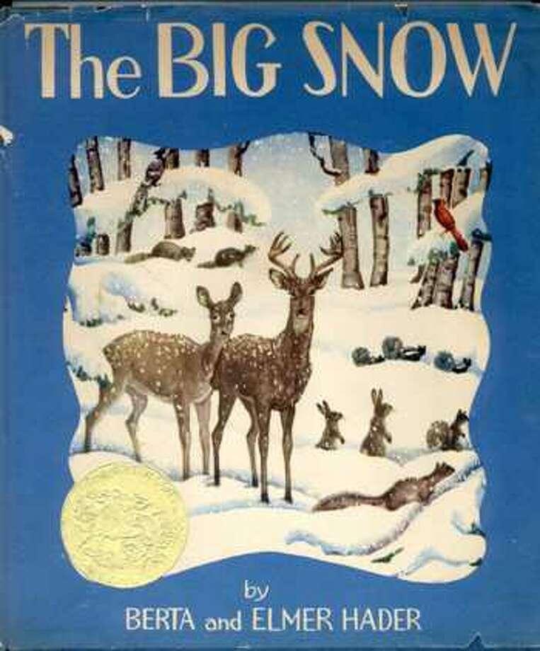 1949 Caldecott winner: The Big Snow by Berta & Elmer Hader