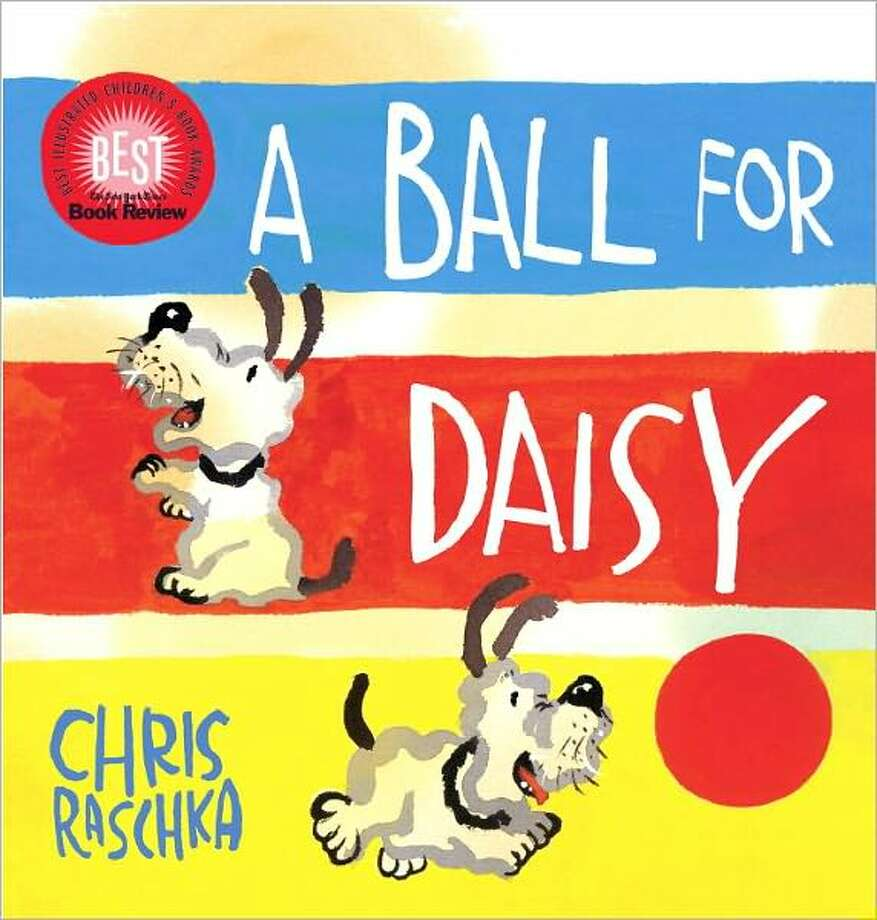 2012 Caldecott winner: A Ball for Daisy, by Chris Raschka.