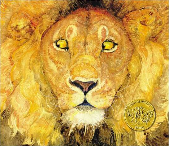 2010 Caldecott winner: The Lion & the Mouse by Jerry Pinkney.
