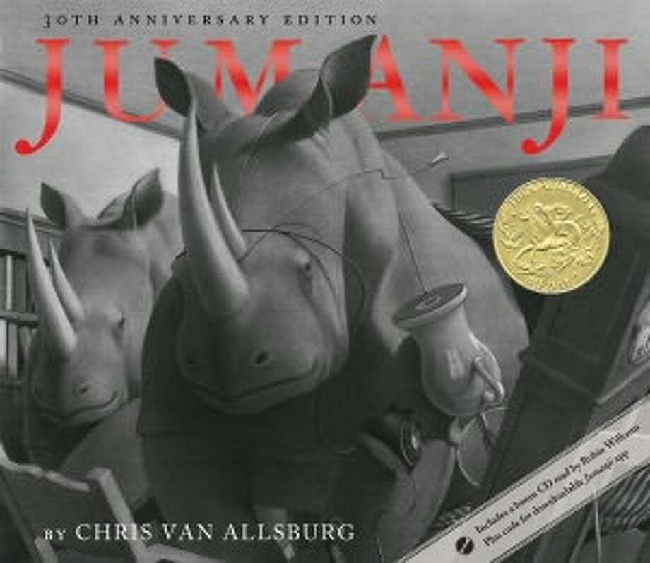 1982 Caldecott winner: Jumanji by Chris Van Allsburg.