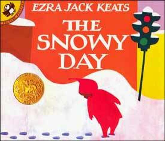 1963 Caldecott Winner: The Snowy Day by Ezra Jack Keats.