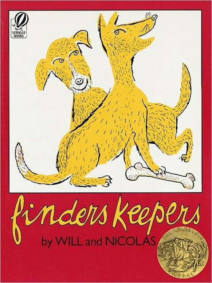 1952 Caldecott Winner: Finders Keepers illustrated by Nicolas