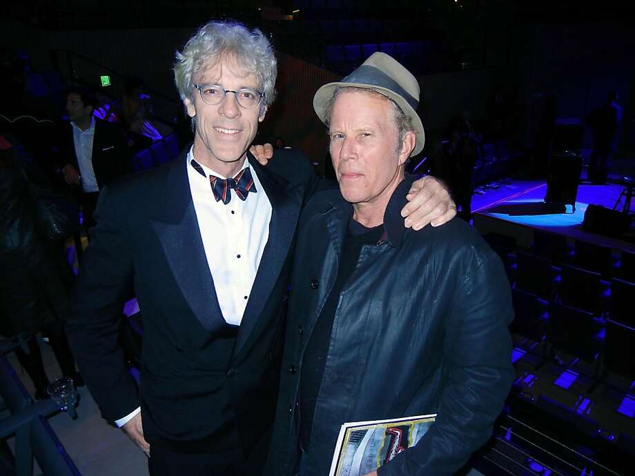 Stewart Copeland (left) and Tom Waits Photo: Catherine Bigelow, Special To The Chronicle