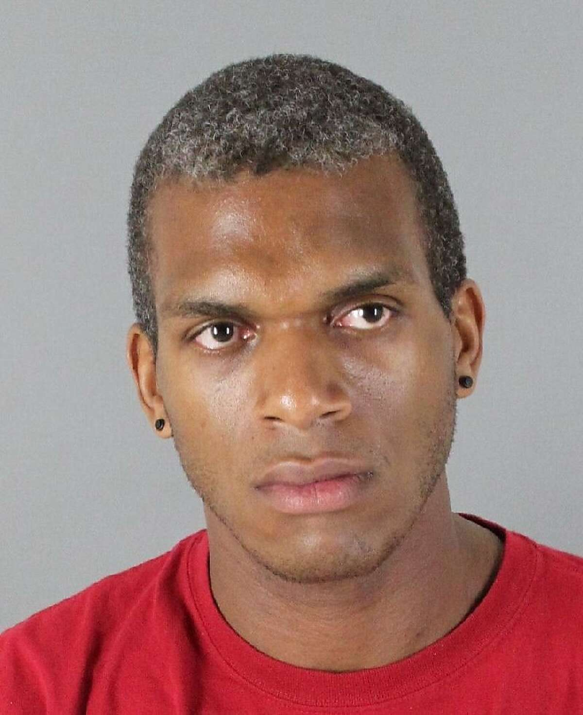 Kwame Harris, 30, is facing charges of assault after prosecutors say he allegedly seriously injured his boyfriend in Menlo Park restaurant in August 2012.