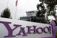 Yahoo's quarterly earnings beat analysts' expectations.
