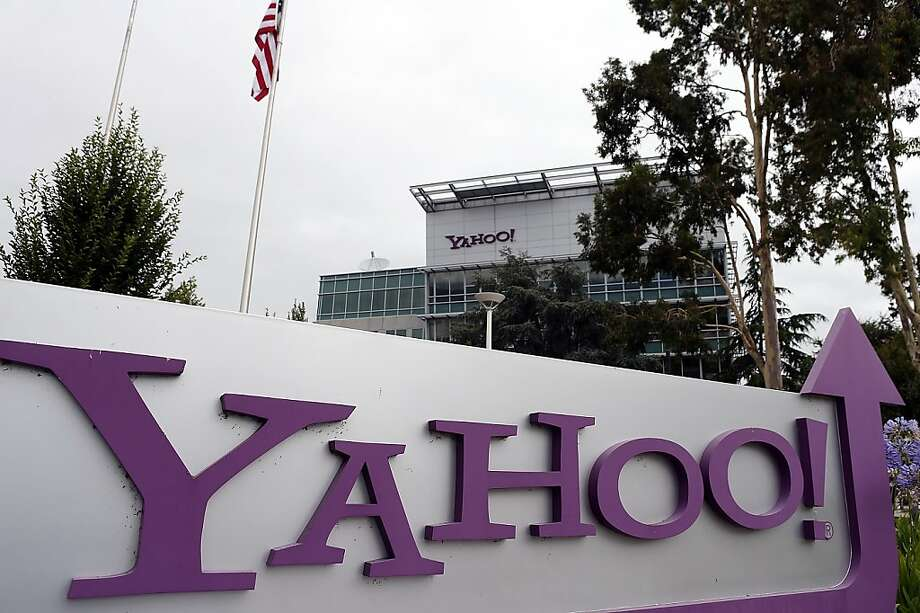 Yahoo's quarterly earnings beat analysts' expectations. Photo: Justin Sullivan, Getty Images