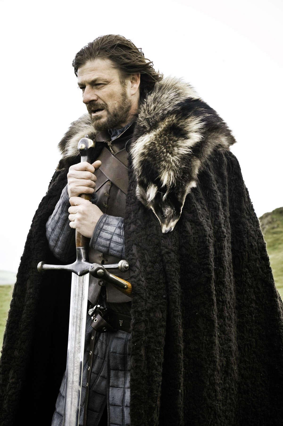 Ned Stark (Sean Bean) Ned Stark died in season one.