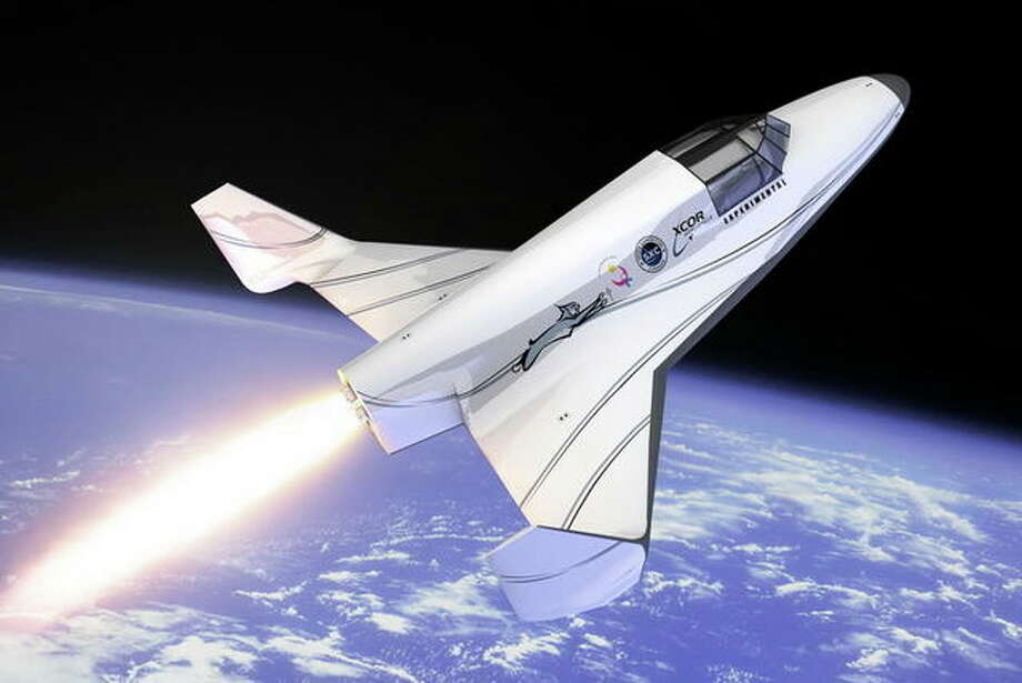 The Lynx Suborbital Vehicle, an XCOR Aerospace's rocket powered vehicles.  Photo: Multiple