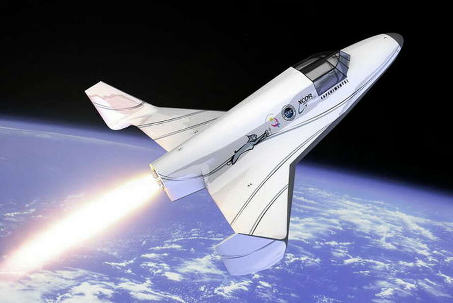 The Lynx Suborbital Vehicle, an XCOR Aerospace's rocket powered vehicles.