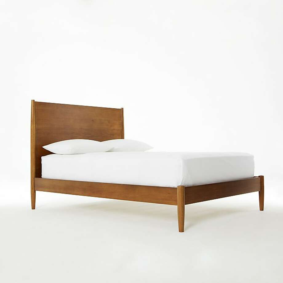 Less: $799 Mid-Century Bed Frame at West Elm (WestElm.com) Photo: West Elm
