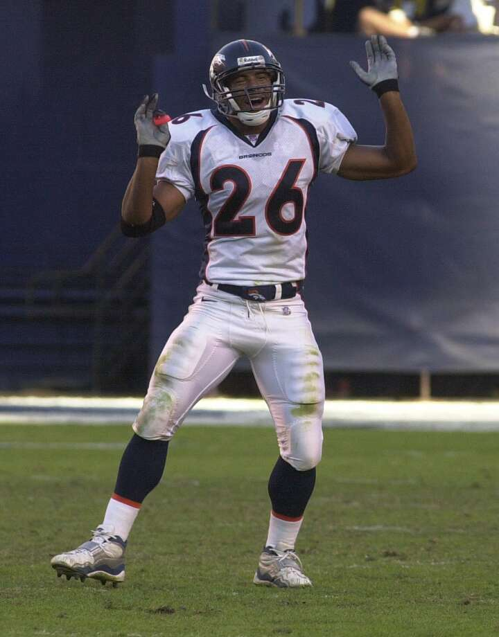 Eric Brown, Judson High SchoolBrown, a safety, won Super Bowl XXXIII (1999) with the Denver Broncos, against the Atlanta Falcons. PHOTO: Brown does a celebration dance after a San Diego touchdown was negated by a referee ruling during the fourth quarter of the Broncos 33-17 victory on Nov. 7, 1999 in San Diego. Photo: Lenny Ignelzi, Associated Press / AP1999
