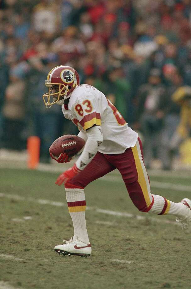 Ricky Sanders, Texas State UniversitySanders, a wide receiver, won two Super Bowls  with the Washington Redskins: Super Bowl XXII (1988) against the Denver Broncos, and Super Bowl XXVI (1992)  against the Buffalo Bills.