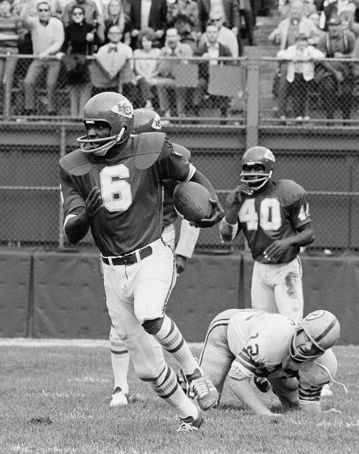 Warren McVea, Brackenridge High SchoolMcVea, a running back with the Kansas City Chiefs, won Super Bowl IV (1970) against the Minnesota Vikings.