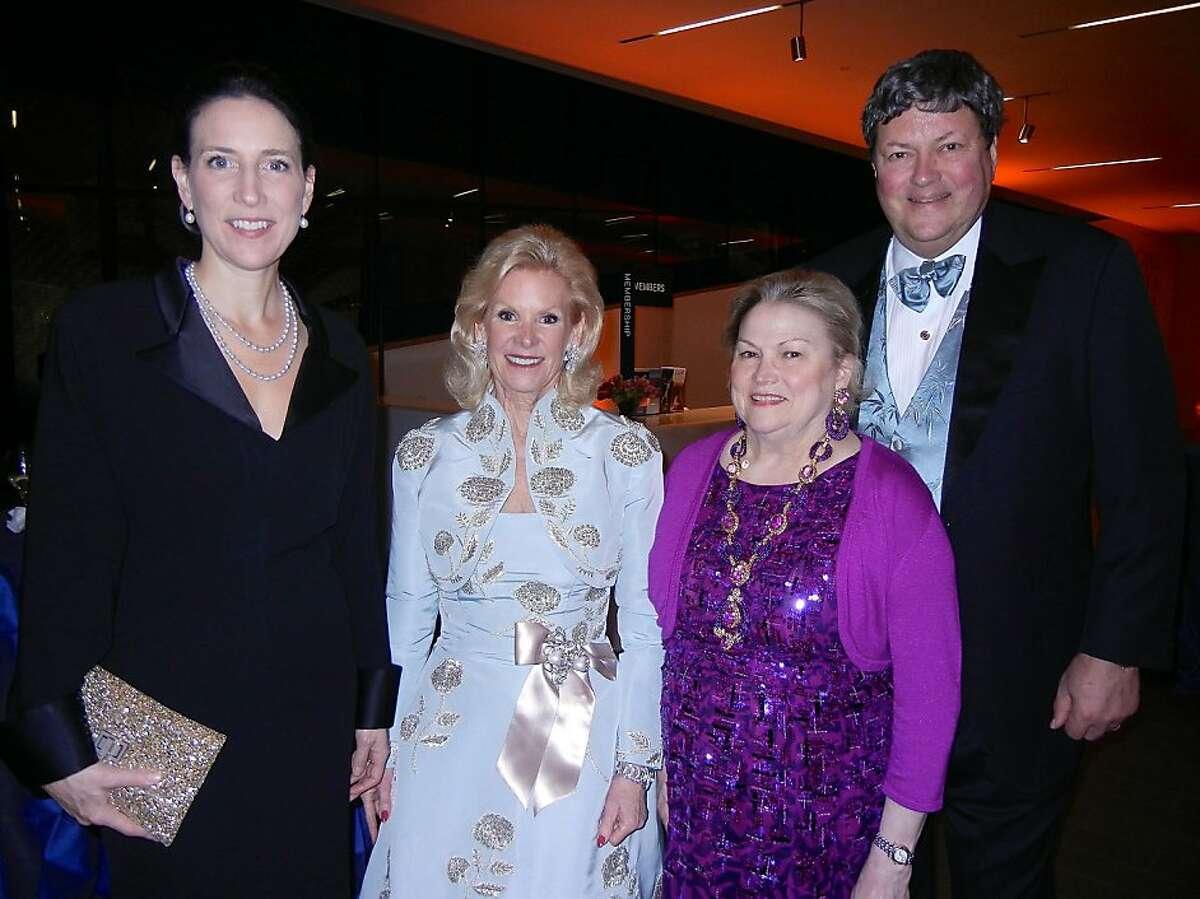 Mauritshuis Museum Director Emilie Gordenker (left) with FAM Board President Dede Wilsey and
