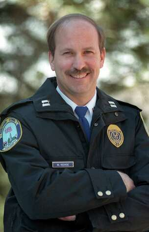 Michael Kehoe of the Newtown Police Department. Photo: File Photo\Carol Kaliff