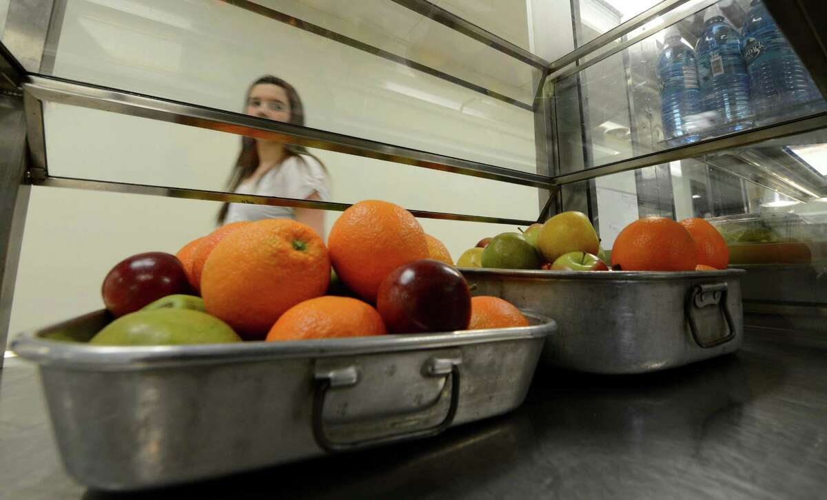FILE. Letter writer says, 'Free school meals are a necessity for some families to ensure their children are receiving the nutrition they otherwise may not, but some elements of the program's dietary guidelines need updating.' (Skip Dickstein/Times Union)