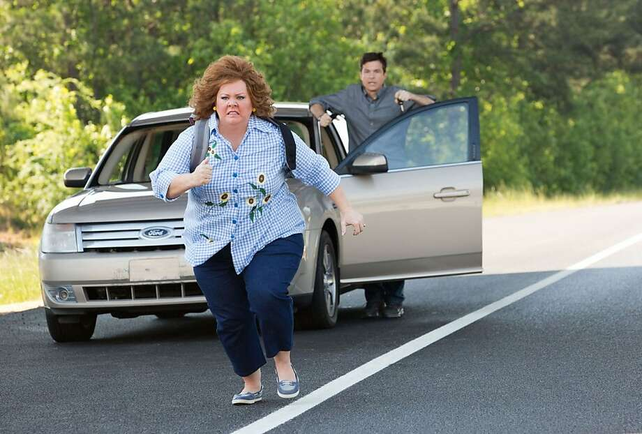 "Melissa McCarthy and Jason Bateman star in the comedy ""Identity Thief,"" opening Friday. Photo: Universal Pictures 2013"