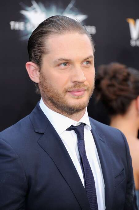 Tom Hardy -- that's what was under the mask in THE DARK KNIGHT RISES.