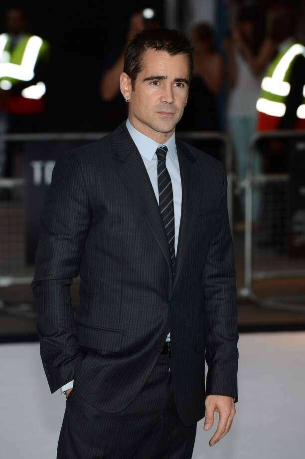 Colin Farrell -- who always makes these lists.