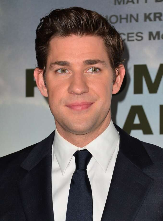 John Krasinski -- star of PROMISED LAND.