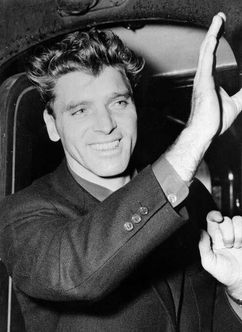 Burt Lancaster (in 1951) -- a classic.