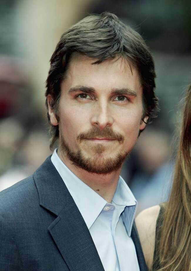 Christian Bale -- deep-voiced, very serious Batman of our era.