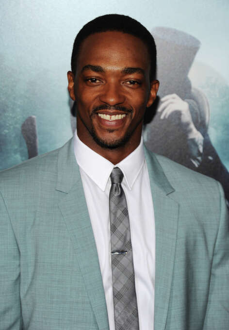 Anthony Mackie -- popular lead and second lead, of films such as 8 MILE and THE ADJUSTMENT BUREAU. Photo: Larry Busacca, Getty Images / 2012 Getty Images