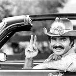 Burt Reynolds, star of the 1980 movie Smokey and the Bandit.